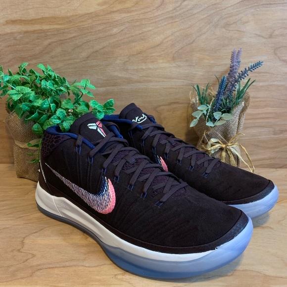 huge discount 2a1cb 8195c NEW Nike Kobe AD Mid Port Wine Basketball Shoes